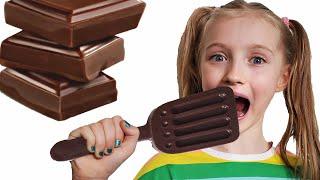 Polina y el desafío de chocolate