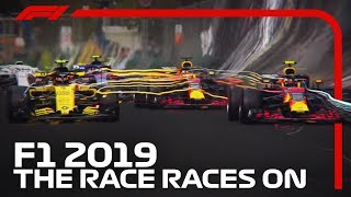 F1 Season Launch 2019 - The Race Races On