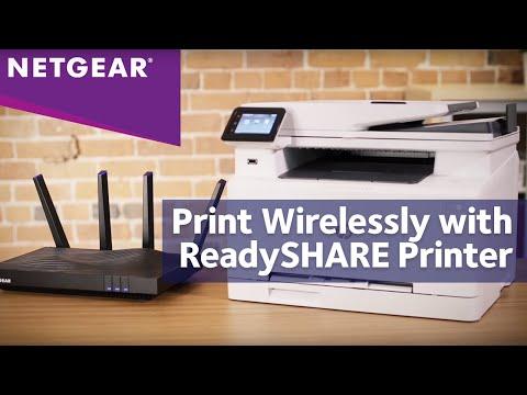 How to Setup NETGEAR ReadySHARE Printer with Nighthawk WiFi