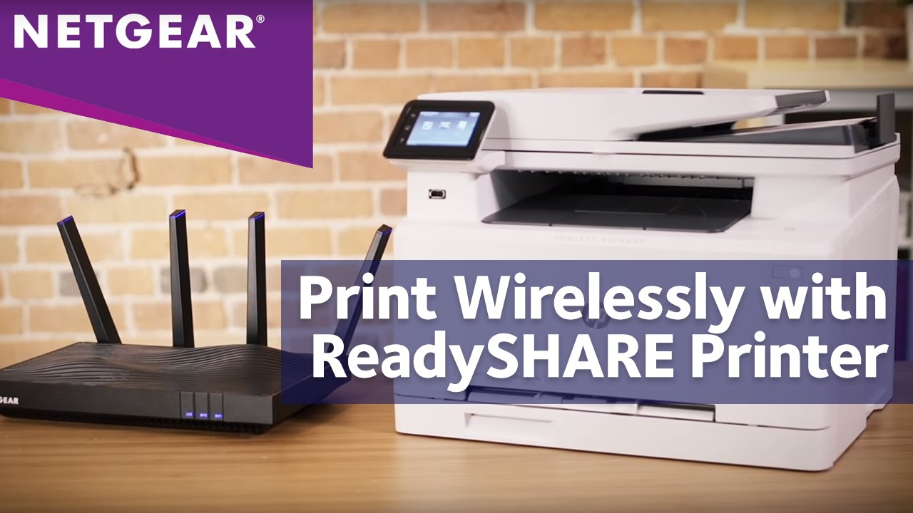 How to Setup NETGEAR ReadySHARE Printer with Nighthawk WiFi Routers | Print  Wirelessly
