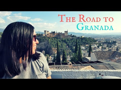 Traveling From Madrid To Granada | Spain Vlog | Full Time Traveling Couple
