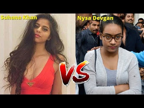 Thumbnail: Kajol Daughter Vs Shahrukh Khan Daughter - Who is the Most Fashionable