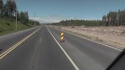 Leveäkaistatien levennystyöt Kello-Haukipudas 5,2 km matkalta - On the Road  - Tienpäällä