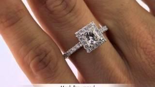 1.76ct Princess Cut Diamond Engagement Anniversary Ring-Mark Broumand