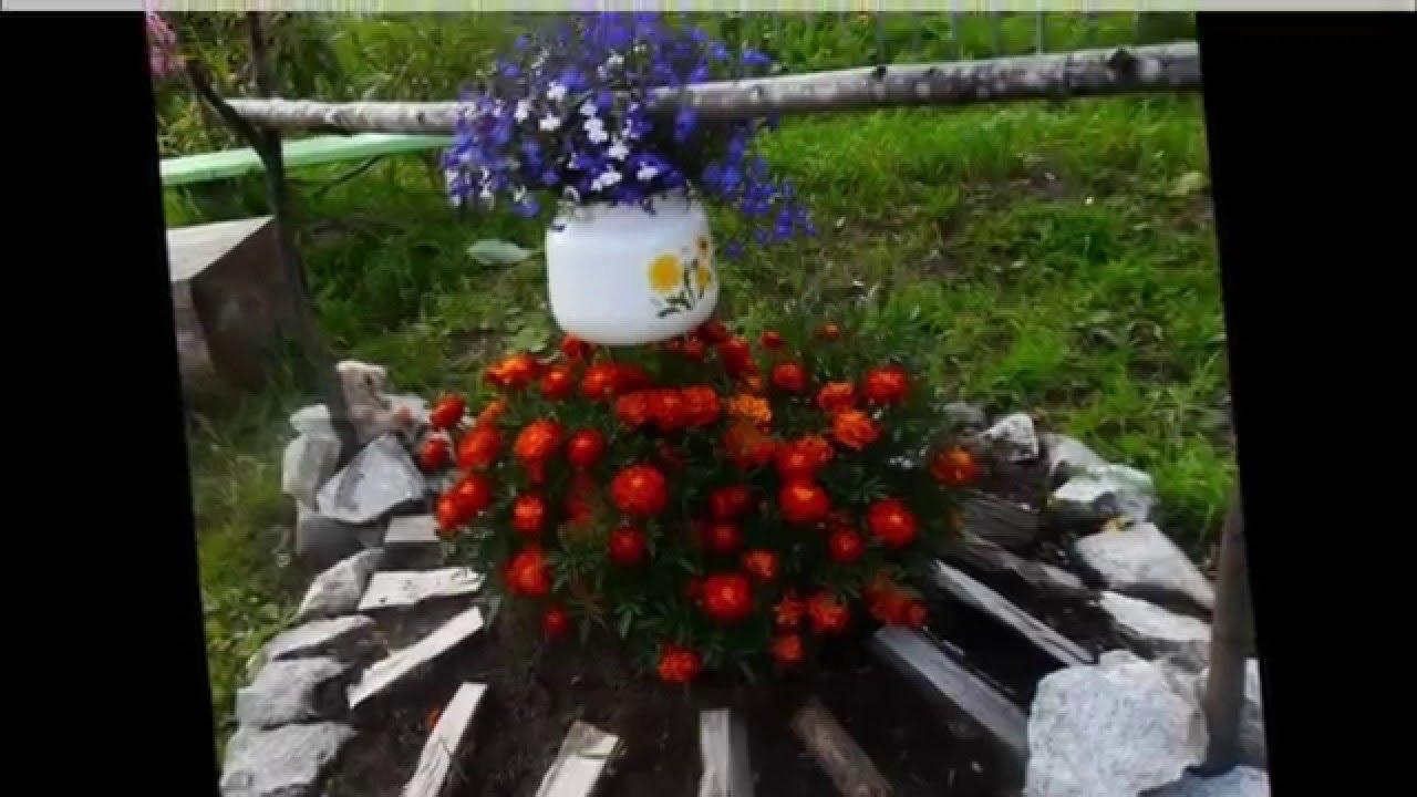 Сад и Огород Поделки для украшения сада своими руками фото ...
