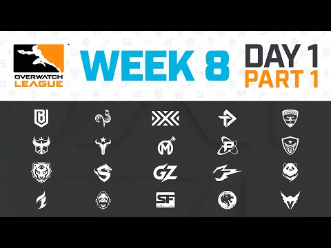 Stream: OW League S3 - Guangzhou Charge vs Shanghai Dragons | Week 8