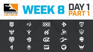 Overwatch League 2020 Season | Week 8 Day 1 | Part 1