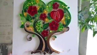 love tree colored