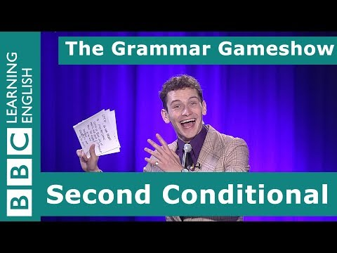 Second Conditional: The Grammar Gameshow Episode 20