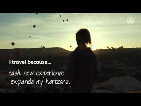 I Travel Because... New Experiences | Allianz Global Assistance Travel Insurance