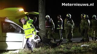 Ernstig gewonde na ongeval Kielwindeweer/Zuidlaarderveen