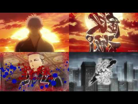 Gintama Opening 17 All versions (comparative)