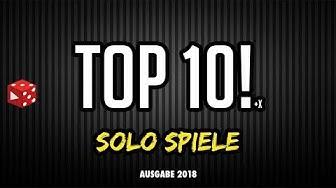 Die besten Solo - Spiele: Spiele für eine Person - 2018er Update (Top 10 Solo Brettspiele)