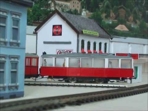 Tram op Modelbaan Langdorf
