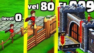 IS THIS THE STRONGEST WALL CASTLE EVOLUTION? (9999+ MAX LEVEL UPGRADE) l Grow Empire: Rome