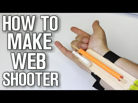 How To Make Web Shooter