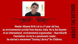 The Lost World of Moms - An Eco- Fiction by9 Year old boy | Alleyne Eirik Lal | Book Launch