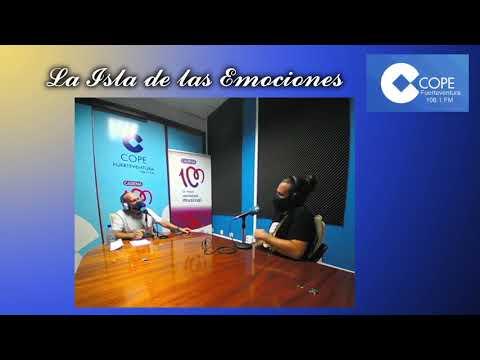Alejandro Frey, de LA VOZ de Antena 3  A  LA ISLA DE LAS EMOCIONES de Cope Fuerteventura.