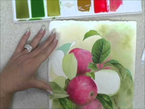 How to Paint Watercolors - Soft Edges for form and Dimension