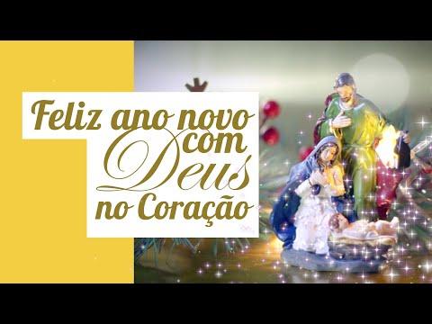 Feliz Ano Novo 2020 Com Deus No Coração Mensagem De Ano