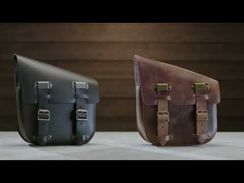 Single Sided Swingarm Bag | Harley-Davidson Bobber Accessories