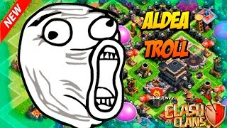 Cuidado al trolleo | Aldea troll Clash of clans