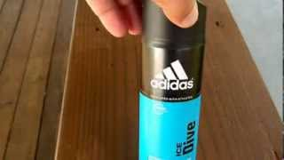 Adidas Ice Dive Body Spray Review - Are you a body spray man?