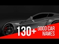 130+ Good Car Names - Car Name Ideas that are Aggressive, Classic, Cute, Fast, Funny & Sexy