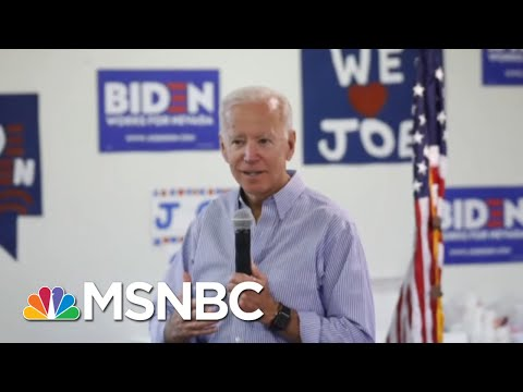 New Poll Shows Biden And Warren In Statistical Tie | Hardball | MSNBC