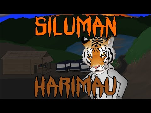 Tiger Human Stealth | Horror Animation Funny Cartoon | Warganet Life
