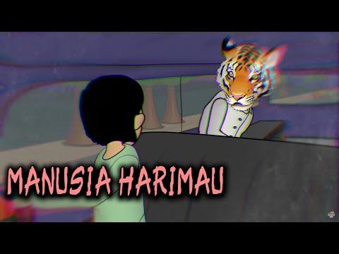 Penampakan Manusia Harimau Cindaku | Animasi Horor Kartun Lucu | Warganet Life