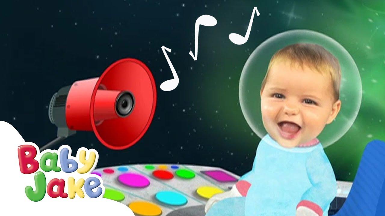 Baby Jake - Let's Make Some Music! 🎶 | Yacki Yacki Yoggi | Cartoons for Kids
