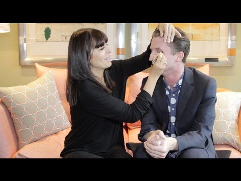 Claudia Winkleman's How To Do A Smokey Eye Tutorial | Joshington Post| Grazia UK