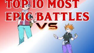 Top 10 Most Epic Battles!