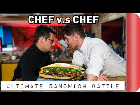 THE ULTIMATE CHEF VS CHEF SANDWICH BATTLE