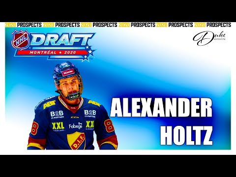 ALEXANDER HOLTZ is a beast, this 2020 draft has depth