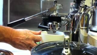 Making Espresso with a La Pavoni Professional