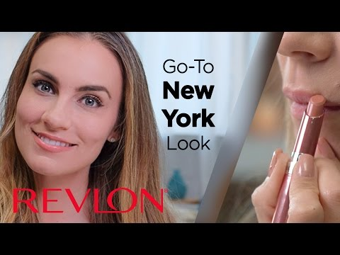 New York Go-To Look with Smokey Eye and Nude Lip feat. Angela Lanter | Revlon