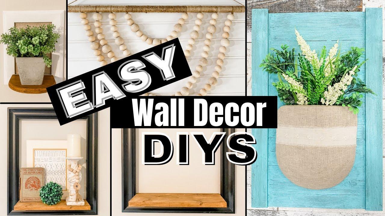 FABULOUS Wall Decor DIYS that YOU WILL LOVE