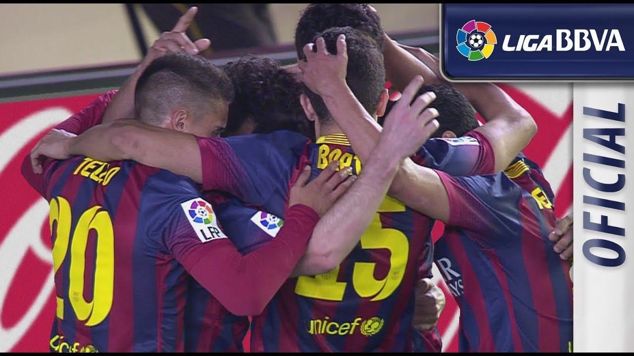 Download Highlights Villarreal CF (2-3) FC Barcelona - HD