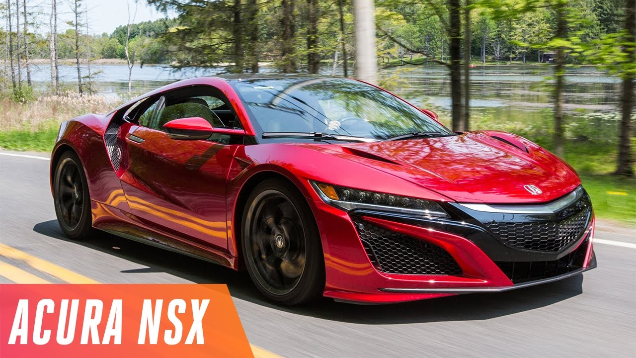 2017 Acura NSX first drive - YouTube