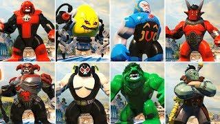LEGO DC Super Villains All Big Fig Characters (Showcase)