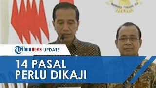 Jokowi Sebut Ada 14 Pasal yang Perlu Dikaji, Tunda Pengesahan RKUHP