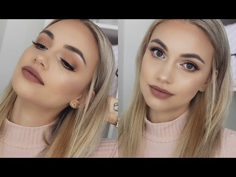 SOFT MATTE BROWN SMOKEY EYE Makeup Tutorial