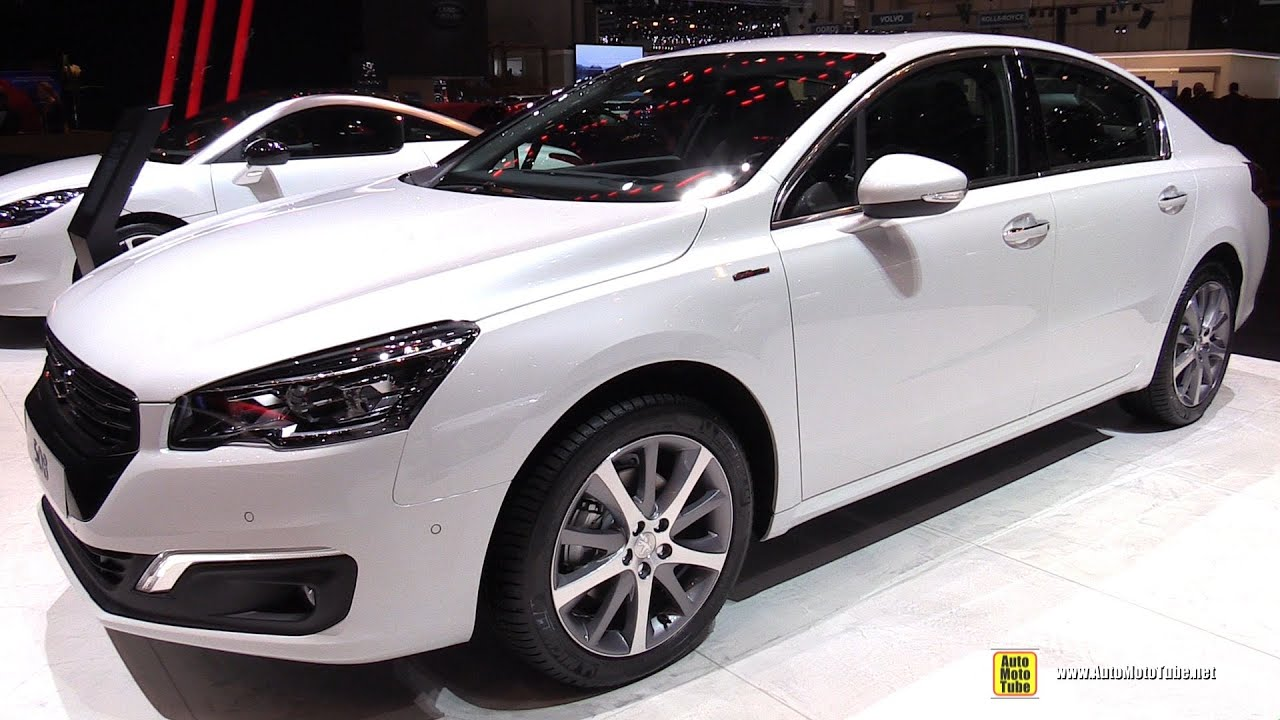 2015 peugeot 508 gt line exterior and interior. Black Bedroom Furniture Sets. Home Design Ideas
