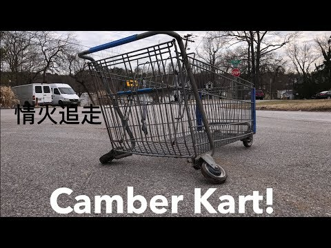 We Slammed And Cambered A SHOPPING KART?!!!