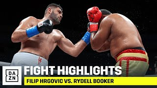 HIGHLIGHTS | Filip Hrgovic vs. Rydell Booker