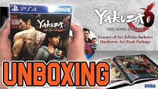 Yakuza 6 The Song of Life Essence of Art Edition (PS4) Unboxing!!