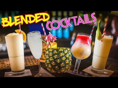 How to make frozen vodka drinks