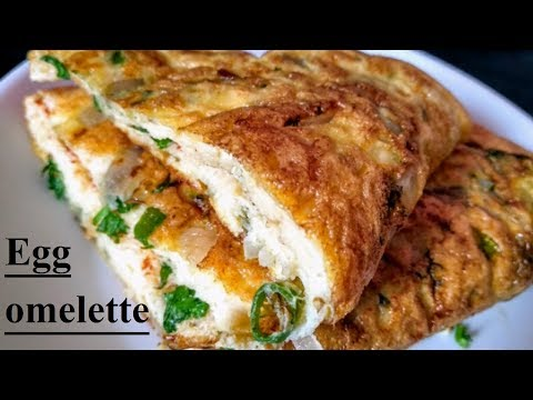 indian style fluffy sponge egg omelette || by home recipe